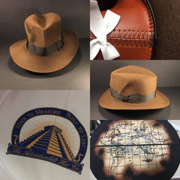 9dc3b8d086b Just finished a Indiana Jones Raiders of the Lost Ark hat. This from the  Adventurebilt Legacy collection.  penmanhats  OnlyPenman  bespoke   custommade ...
