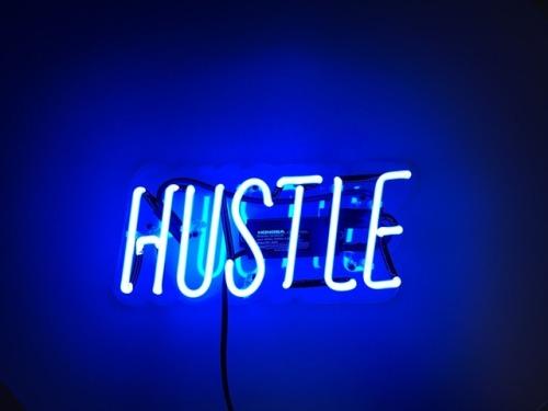 Hustle Hard Girl Wallpaper Glow Tumblr