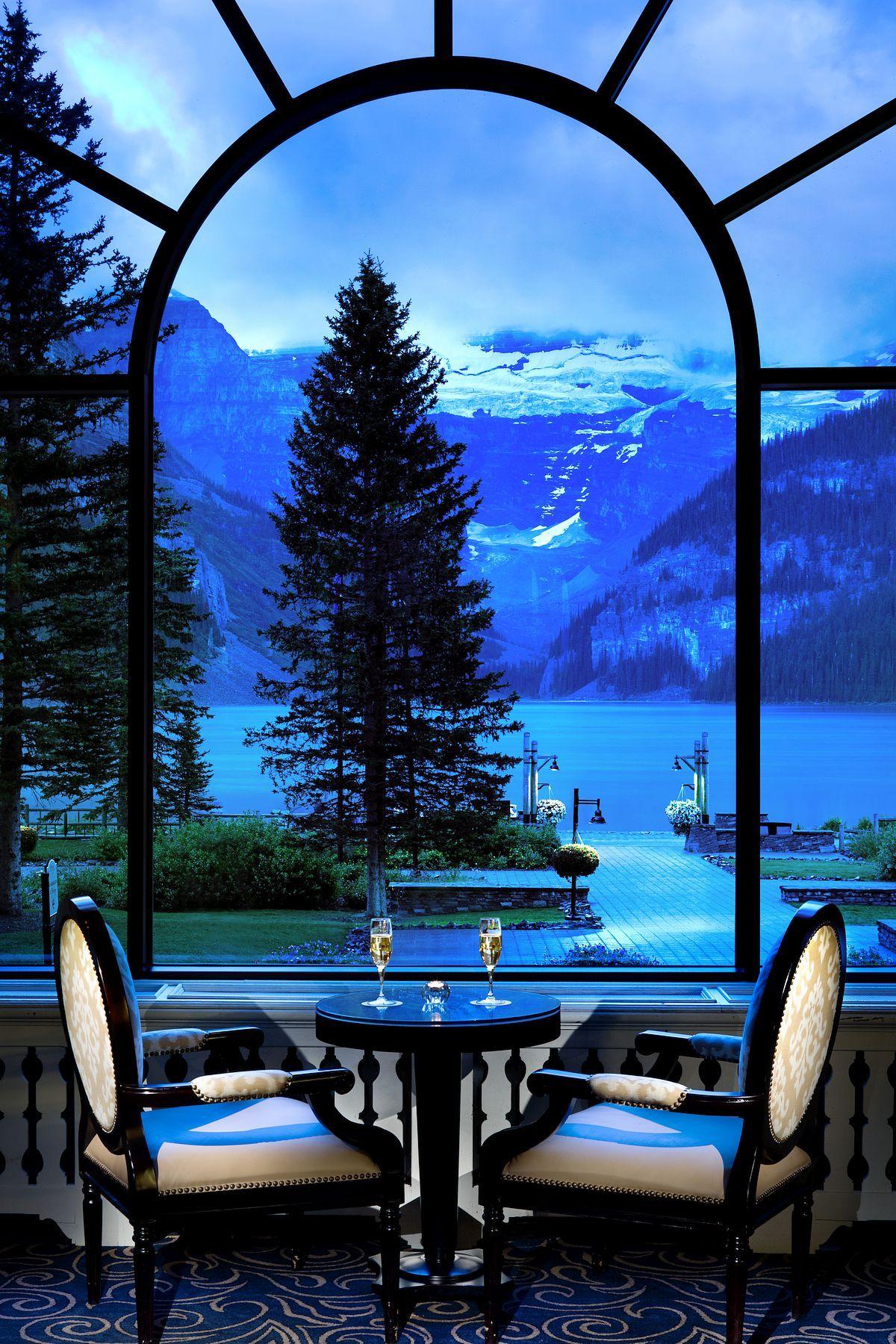 Fairmont Chateau Lake Louise Majestically located  Luxury Accommodations