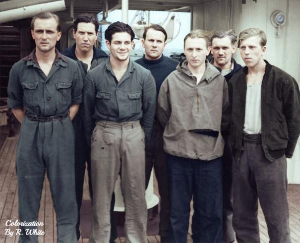 d459b046763 The crew of the German U-Boat U-175 in captivi… – History