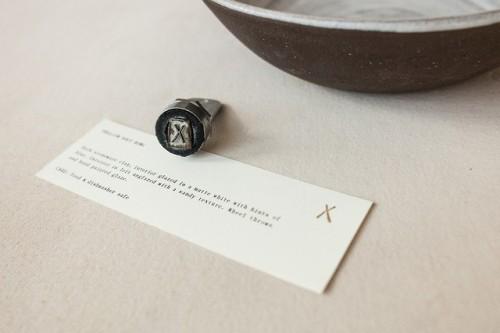 "tumblr_p2zycvjkDe1r5vojso6_500 Emblem Identification forNatasha Alphonse Ceramics by way of Shore""Raised in... Design"