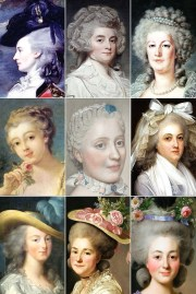 18th century woman hairstyles