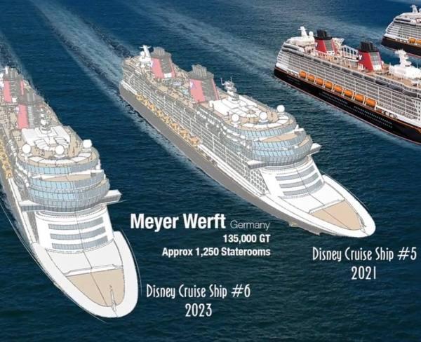 Disney Cruise Line Meyer Werft Set Build