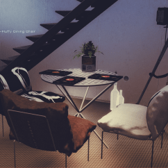 Hanging Chair The Sims 4 Swing Review Iridescent  The77sim3 77 Objects Fluffy Dining 6