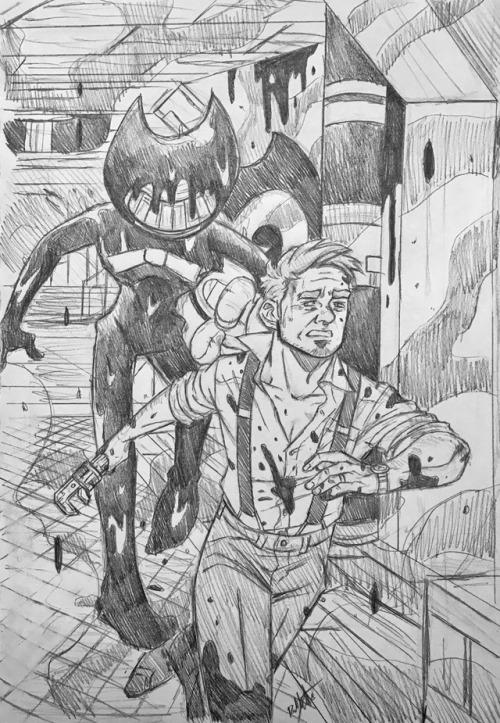ink cartoon  Tumblr