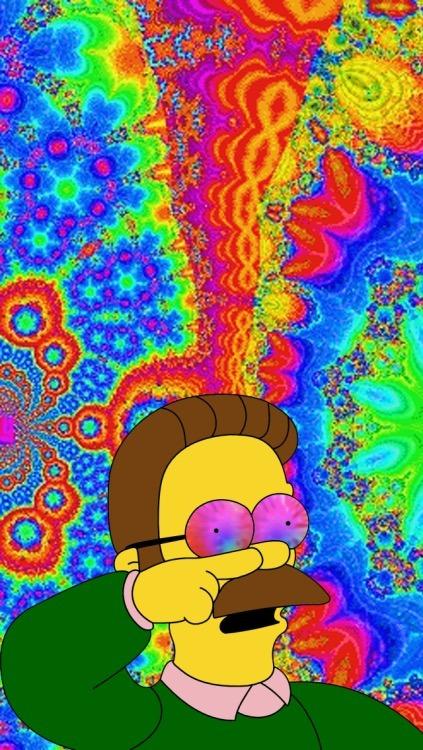 Acid Trippy Wallpapers Hd Trippin Simpsons Tumblr