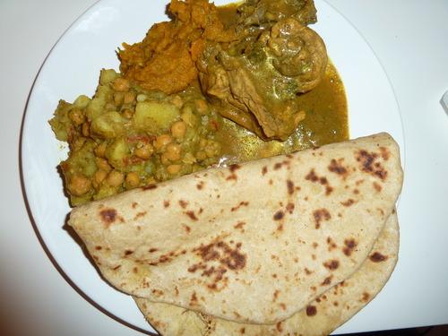 hungry belly recipes — TRINIDAD DHAL PURI ROTI