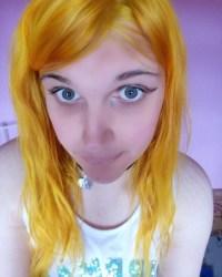 unnatural hair color on Tumblr