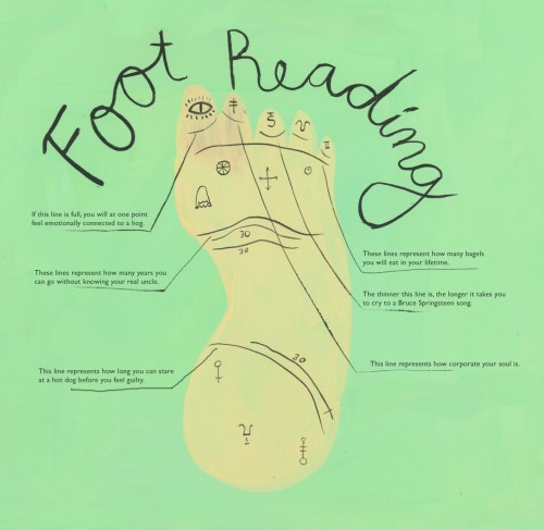 small resolution of esme makes stuff too i made a really realistic foot reading chart