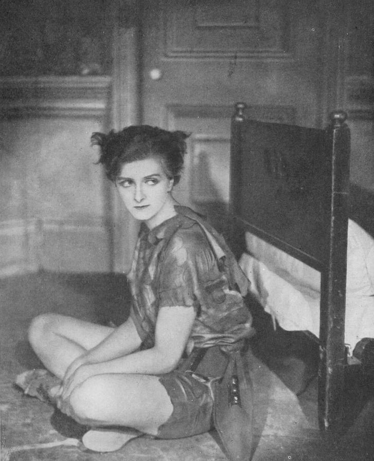 Gladys Cooper as Peter Pan, 1924