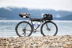 surlystragglerarchive:  Sweet #bikepacking bike! #surlybikes #thestraggleisreal#surlystraggler#surlystraggler650b via happyearthindia