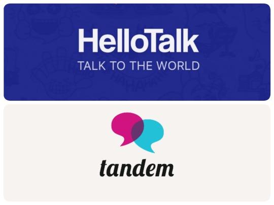 Language exchange apps: Hellotalk vs  Tandem ⋆ Study with Bee!
