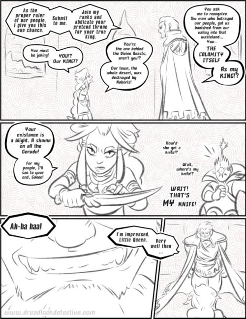 The Demon King Ganondorf By Sondowverdarkrose On Deviantart