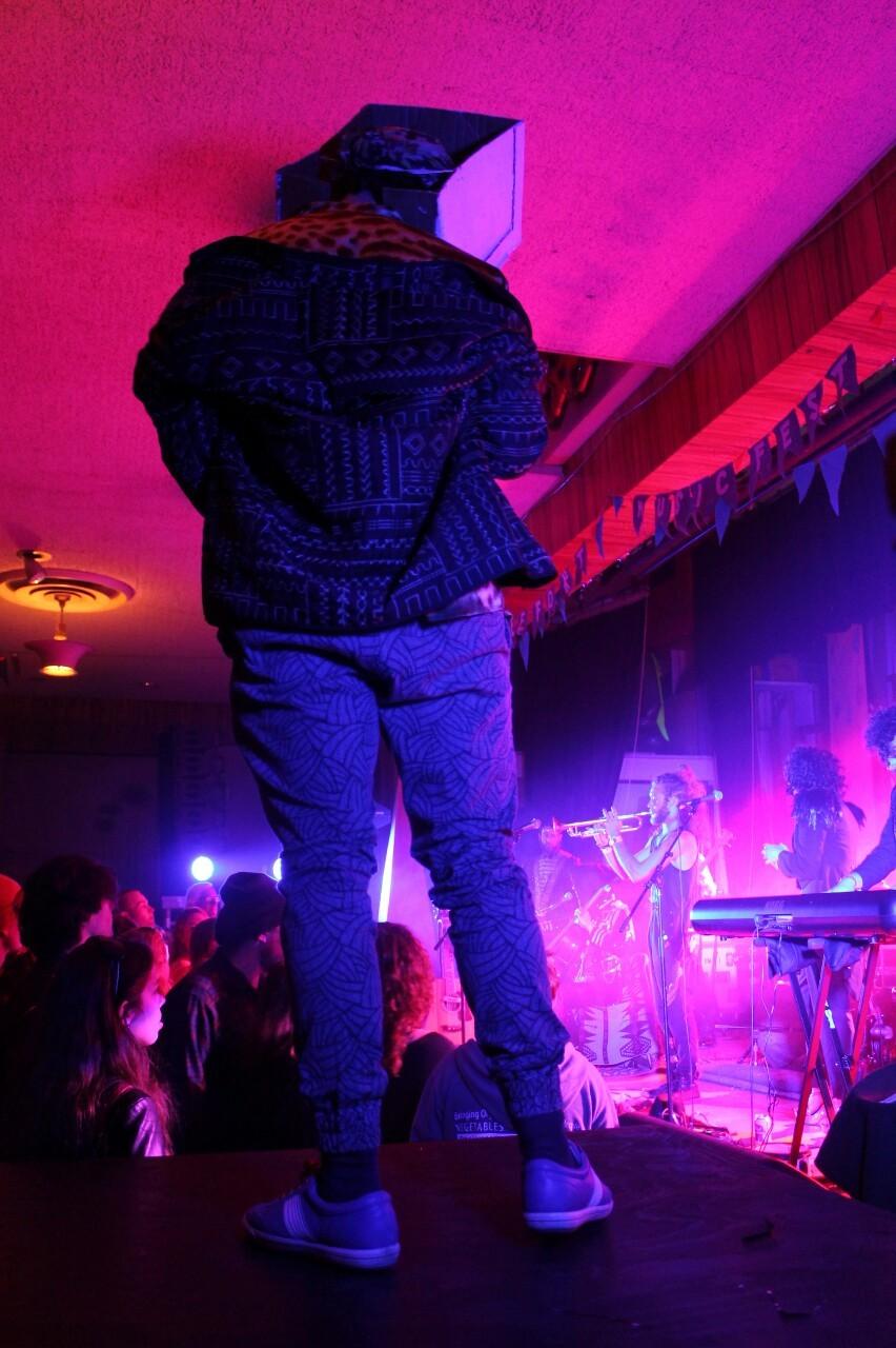 sadbox @ St. Terrible & The Gospel of Nothingness' performance.-lazharus