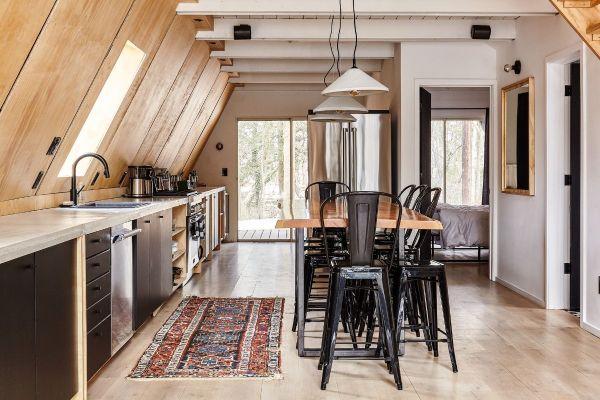 Stunning Scandinavian -frame Retreat Awaits