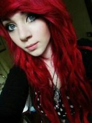 red-scene-hair