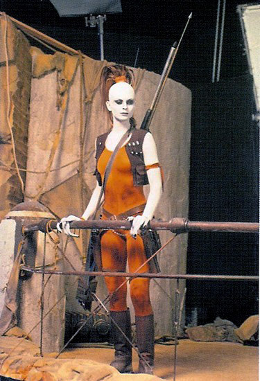 Star Wars Fit for a Queen Aurra Sing  Behind the scenes