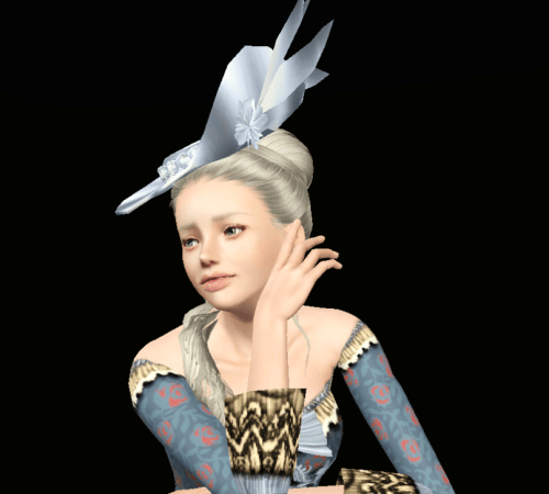 rococo hat  Tumblr