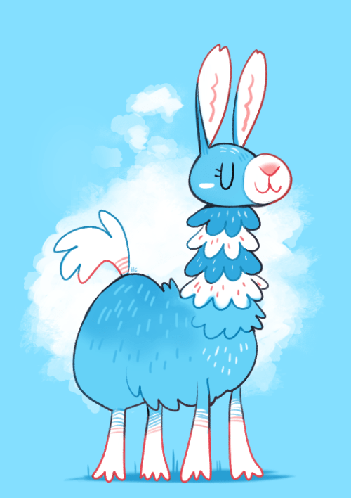 Cute Kawaii Animal Wallpapers Llama On Tumblr