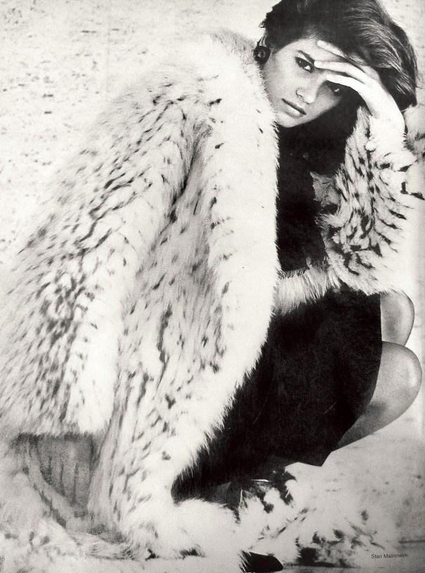 ad8a8bf628 Gia Carangi photographed by Stan Malinowski, c… – Vintage Fashion