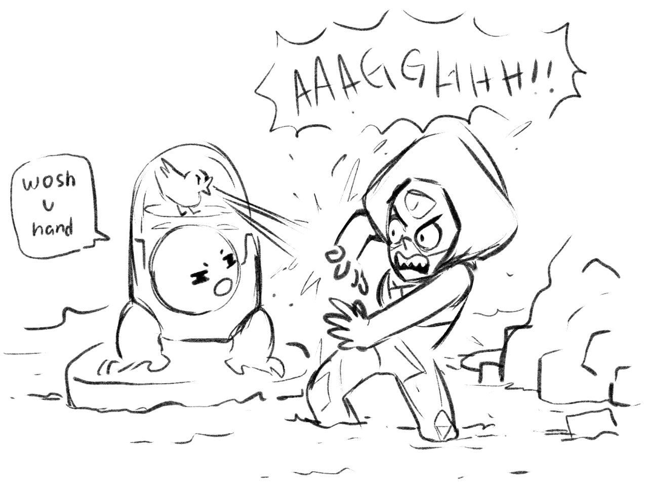 What if Peridot fell but everyone just assumes