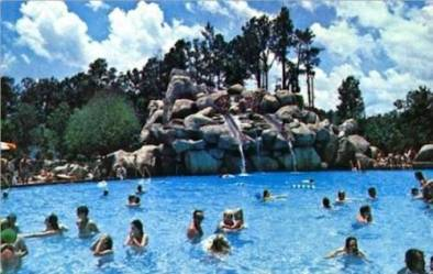Abandoned Disney water park before and after, River Country