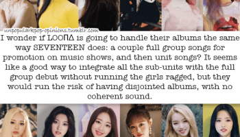 It's interesting to think that if Loona does e… – KPop Fan