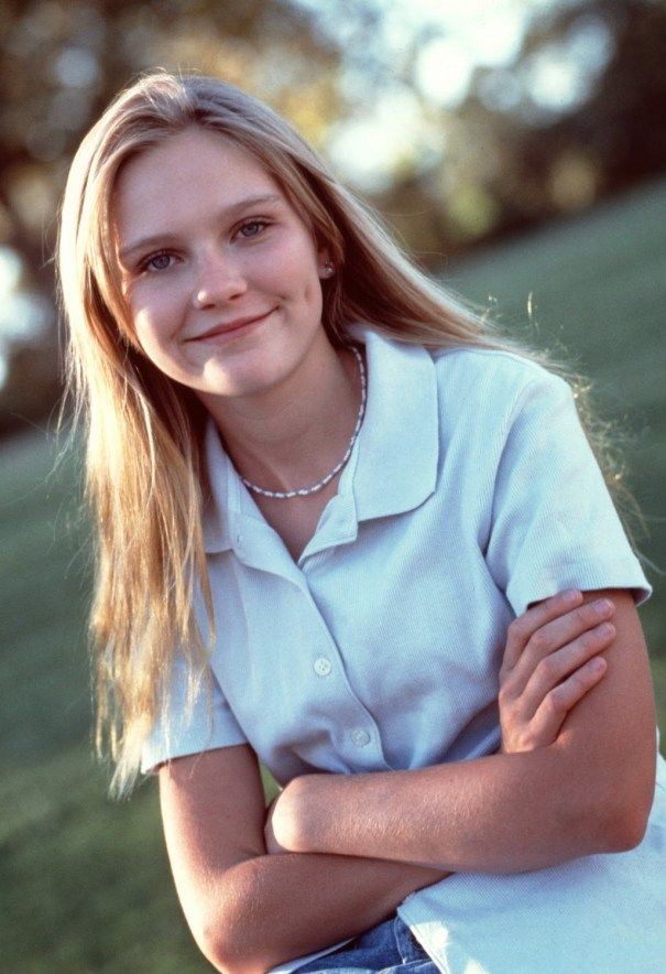 Beautiful Kirsten Dunst as a teenager in 1995  – History