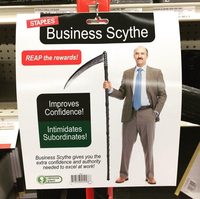 Guadaña de negocios