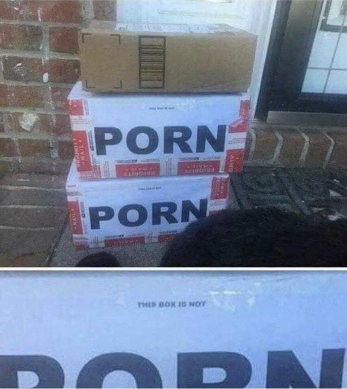 Esta caja no es porno