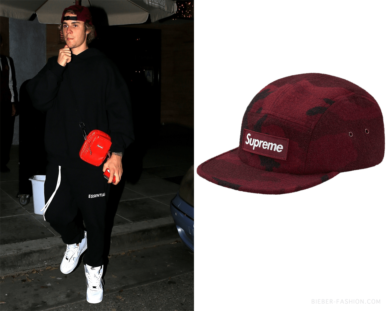 Supreme Camo Wool Camp Cap In Burgundy Not A Justin Bieber Jb24 Girls Pajamas Bear