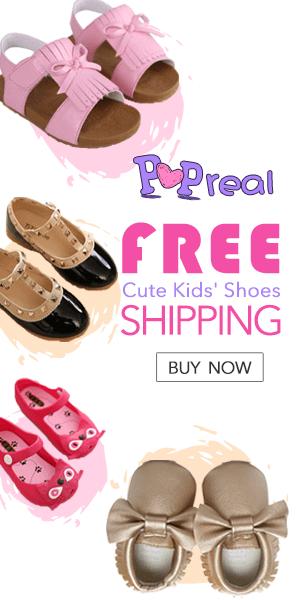 Popreal Fată Copil Drăguț Pantofi de Vânzare