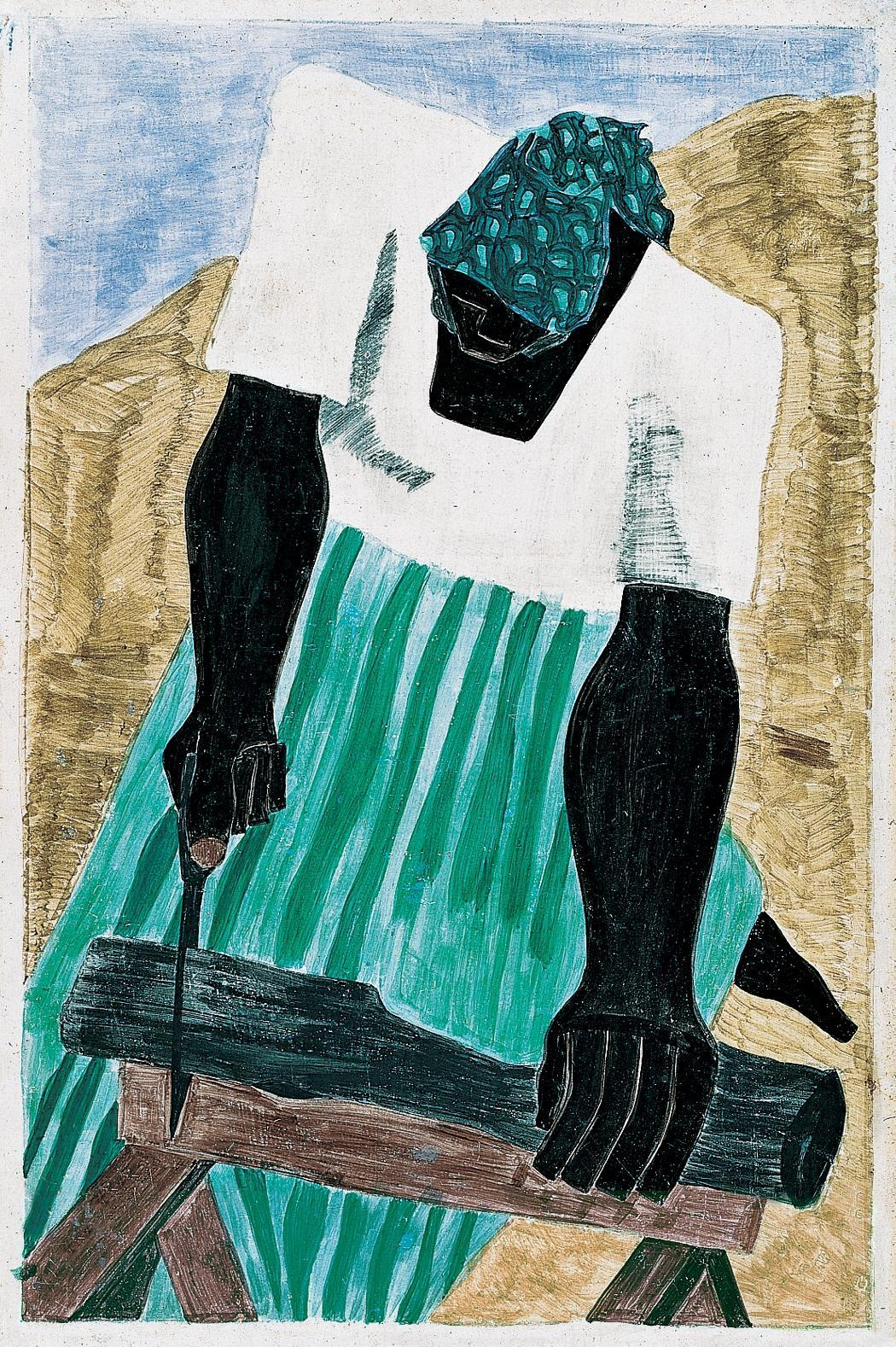 Draw Paint Print Jacob Lawrence Harriet Tubman Series No 7