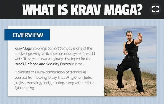 Know something about Krav Maga – Tai Chi