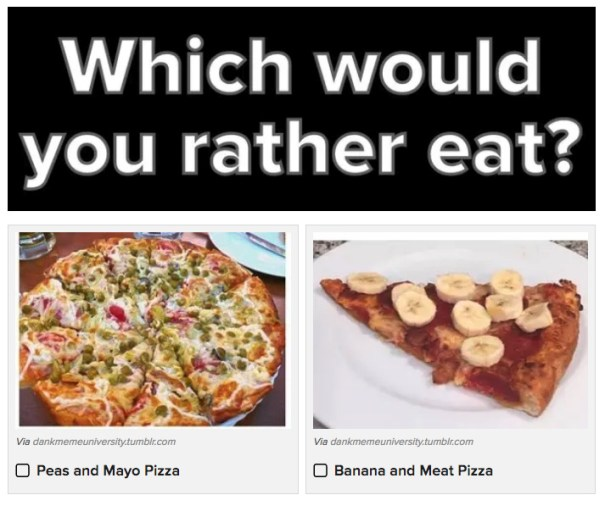 Which heinous tumblr foods would you rather eat weird stuff which heinous tumblr foods would you rather eat forumfinder Images