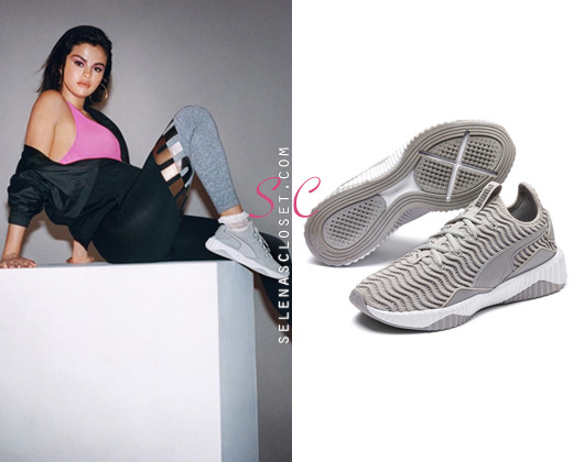 Puma SG Defy Women s sneakers in Color Gray Violet-Puma Aged Silver.  They re available  110. e35b8a815
