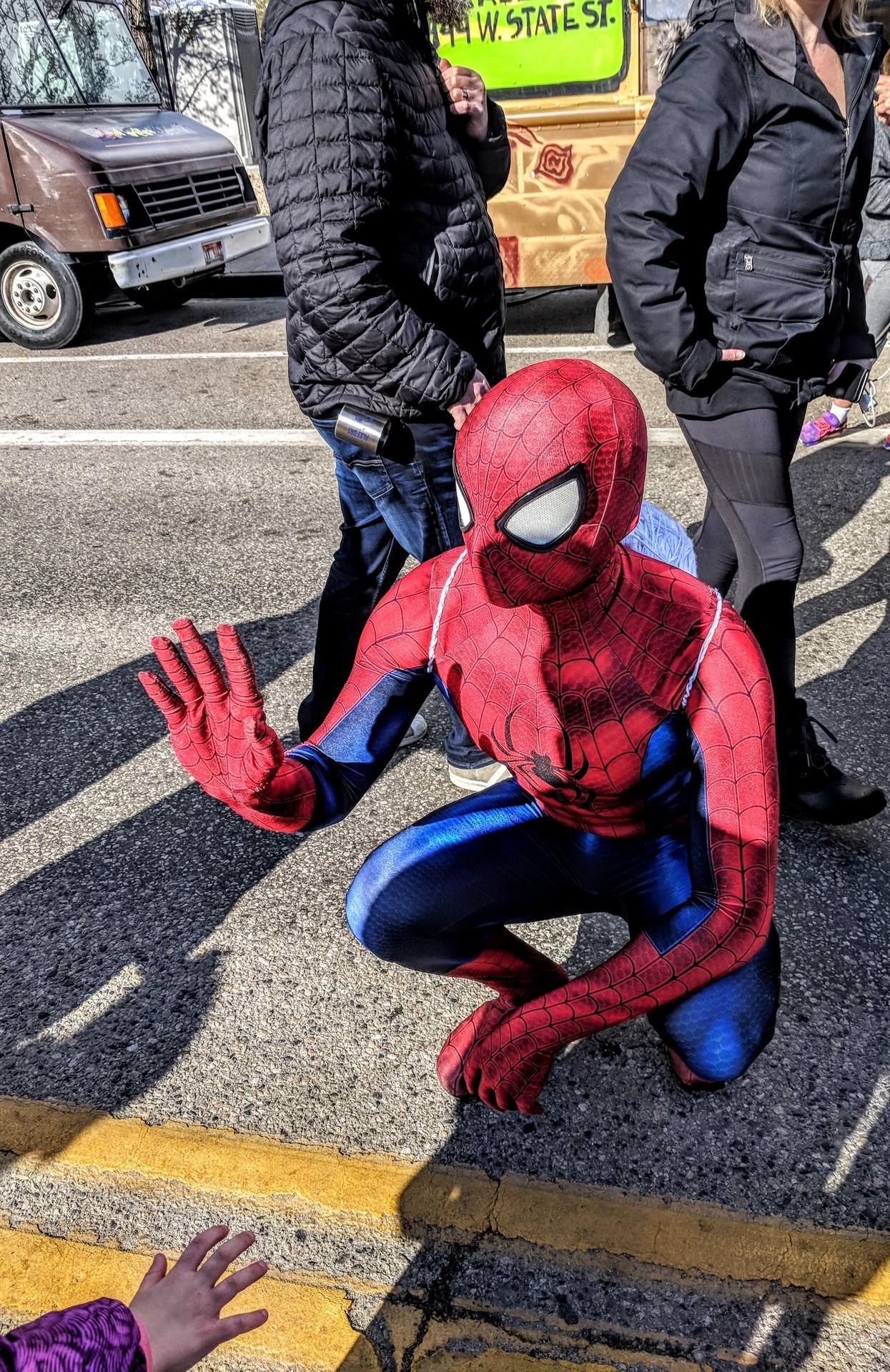 Spiderman hey! -kc