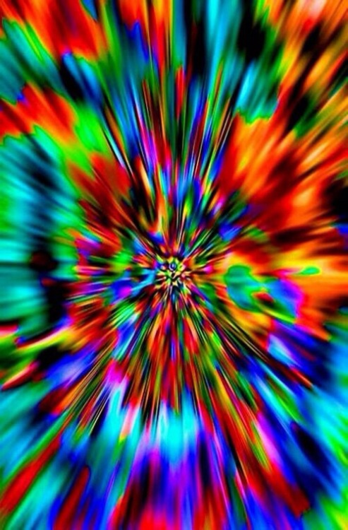 3d Rainbow Psychedeli Wallpaper Awesome Trippy Shit Tumblr