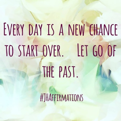 Every day is a new chance to start over. Who you were yesterday is not who are today; who you are today is not who you will be tomorrow. #JHAffirmations #startingover #newday #dailyaffirmationschallenge #dailyquotes #positiveday #positivewords #newbeginnings #growth #grow