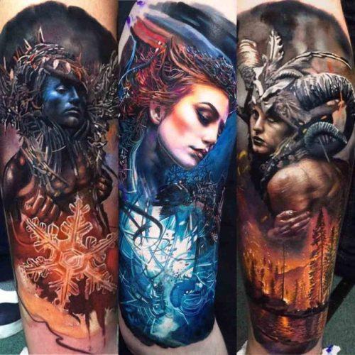 Tattoo Ideas Realism: Realistic Tattoos Photo-Art