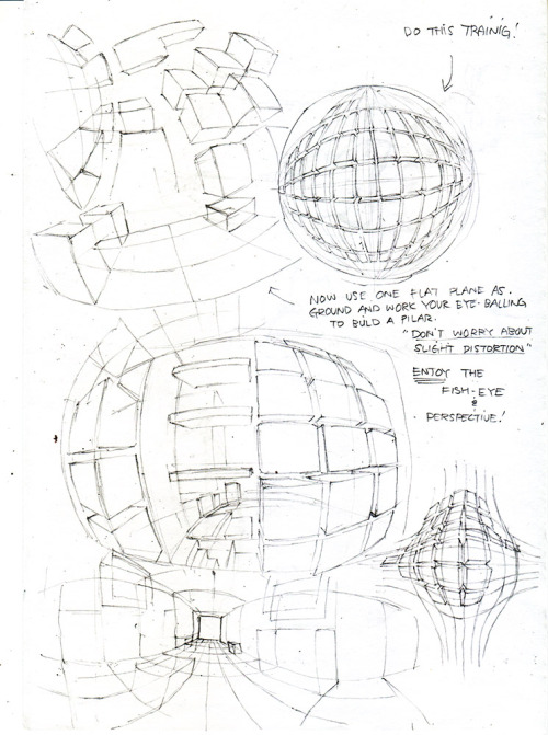 help-me-draw • toshinho: PERSPECTIVE & WARPED PERSPECTIVE...