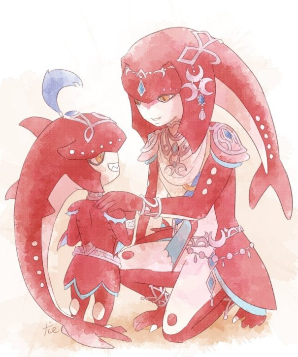 33ccb957f Mipha & Sidon – The Legend of Zelda: Breath of the Wild  … – Gaming