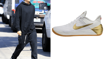 outlet store 346cd 7268c Nike Kobe A.D. Shoes in WhiteMetallic Gold - .