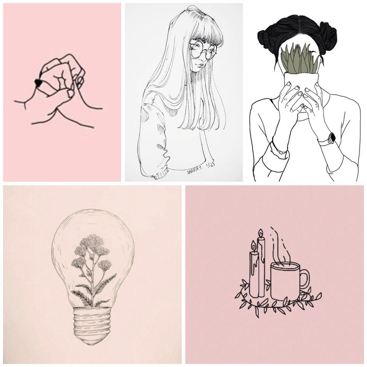 aesthetic drawing disney