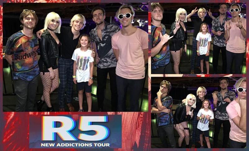 R5 new addictions tour merchandise holliddays r5 tickets meet and greet merch pack keri b m4hsunfo