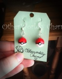 pokeball earrings on Tumblr