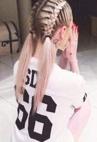 hair braids on Tumblr