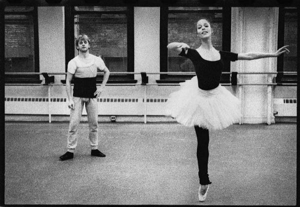 Susan Jaffe and Mikhail Baryshnikov (ABT) – Ballet