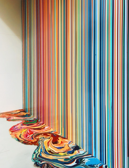 tumblr_p2anzj2cnV1qi51lpo1_500 night-man-jon-gasca:Ian Davenport in Venice BiennalePhoto: Jon... Contemporary