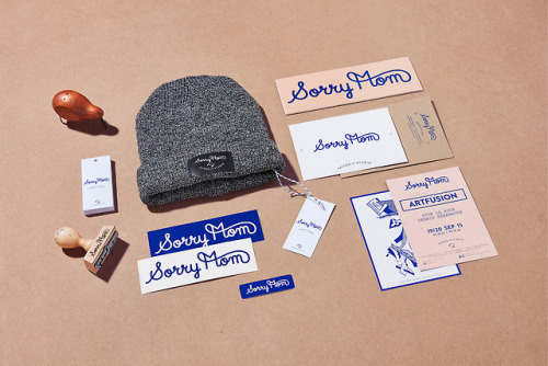 "tumblr_pa3bruz38j1r5vojso10_500 Brand Identity for Sorry Mom Tattoo Studio""Identity project for... Design"
